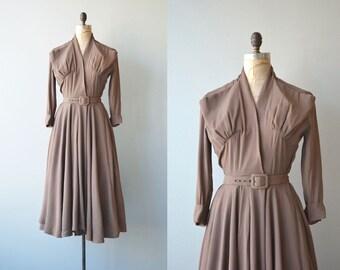Social Circle dress | vintage 1950s dress | rayon 50s dress