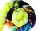 Stay Up Late 4 oz Merino softest 19.5 micron Roving Top for spinning