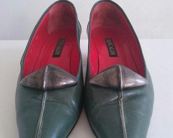 Vintage Leather Pancaldi Pumps size 7
