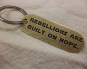 Star Wars Rogue One inspired Etched Brass Keychain