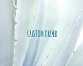 Custom order for Andrew