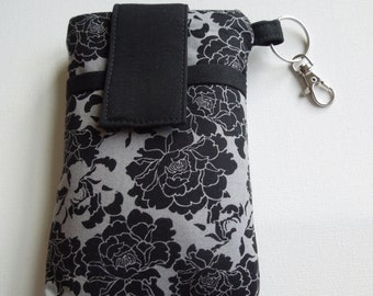 cell phone sleeve pouch,Iphone 7,6s,6 plus,Samsung Galaxy s6,s7 edge/note,HTC 10,LG G5,Moto x sleeve cover,smart phone case - midnight rose