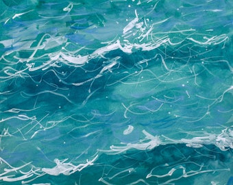 Waves Abstract