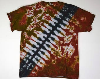 Chewie Bandolier #2 Tie Dye T-Shirt (Fruit of the Loom Heavy HD Size XL) (One of a Kind)