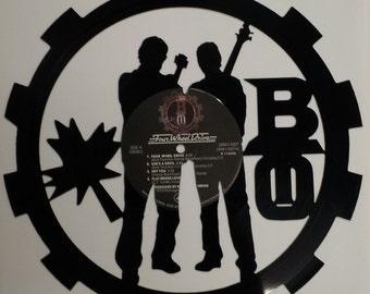 Bachman Turner Overdrive Vinyl Art
