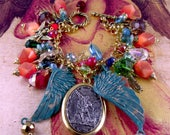 """Archangel St. Michael """"One Who is like God"""" and Archangels Religious Handmade Angels Charm Bracelet"""