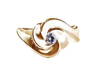 Claire de Lune Engagement ring