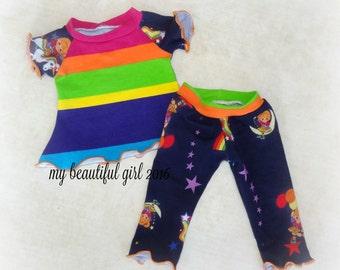 Rainbow Brite Doll Tunic & Leggings - INSTOCK