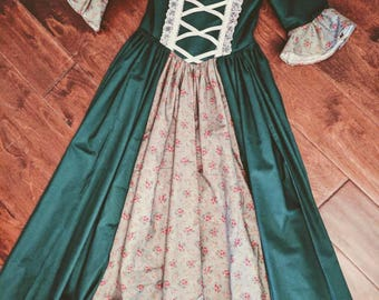 Girl Colonial Dress Ready TO SHIP SIZE 5/6