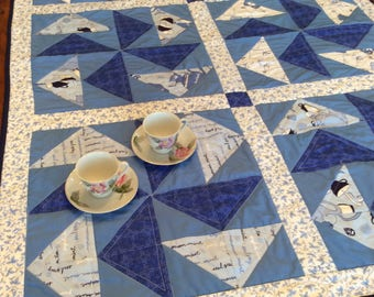 Tea Time Quilted Table Runner