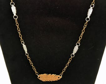 Hope Is A Thing With Feathers Necklace