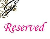 RESERVED listing for Annette J ONLY....set of 19 Classic and XL Bows to be used for your crafts