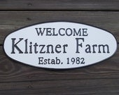 Name and Address signs, Family Name signs - Hand Routed and Carved Signs of Distinction.