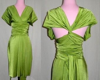 Greenery Moss Bridesmaids Dress ... 37 Colors... Infinity Convertible Dress,  Wedding Dress, Bohemian Dress,  Maternity Dress