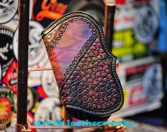The Screwy Dude Fin - a custom mens chain wallet