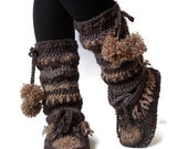 Reserved Listing for Earth Tones Leg warmers