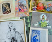 Artistic Illustrations Madonna and Child in Old World Art Some Modern Art Reviews Christmas Story in Christmas Lot No 837