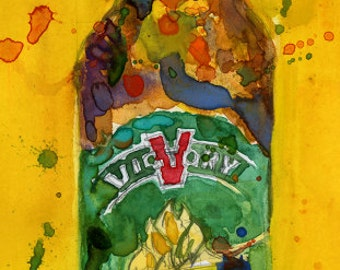 Victory Brewing Company - Prima Pils Beer Art -  Man Cave - Bar