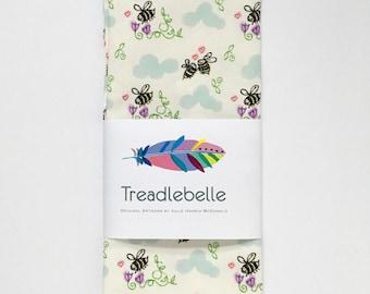 Happy Bees Tea Towel