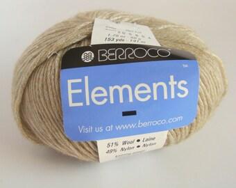 Berroco Elements Yarn - Color 4905 Soft Beige  - Downsizing SALE  Must Go!