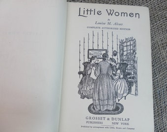 Little Women by Louisa May Alcott 1915