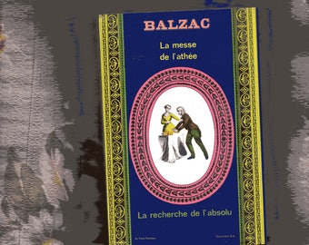 BALZAC Two Stories in One, in French vintage paperback 1967