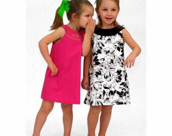 Jacqueline Children's Corner Sewing Patterns Dresses for Girls Szs 7-12