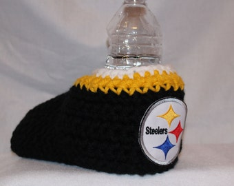 Ready to ship - Pittsburgh Steelers Drink Mitt  - The mitten with the drink holder
