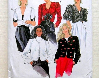 Misses' Short Jackets - Simplicity 9864 - Vintage Sewing Pattern,Sizes 6, 8 and 10