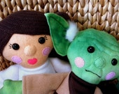 Custom Listing for Elaine from PaperMade Design. Leia inspired plush toy