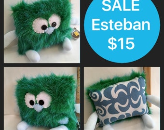 SALE Esteban the Pillow Pal Monster