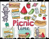 Picnic Ant Clipart Collection - Immediate Download