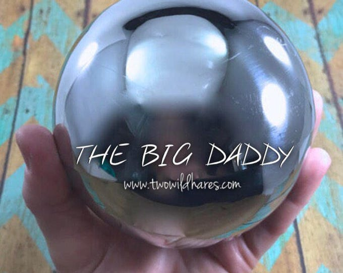 4″ THE BIG DADDY Bath Bomb Mold, Heavy Duty, Stainless Steel