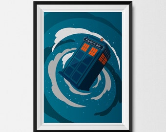 Dr Who, Dr Who Print, Dr Who Art, Dr Who Design, Man Cave, Tardis, Galaxy, Tardis Art Print, Dr Who Decor, Dr Who Poster, The Doctor