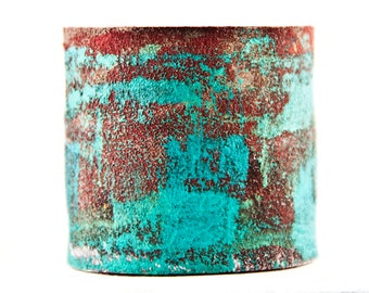 Turquoise Jewelry, Leather Cuff, Leather Jewelry, Leather Bracelet