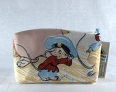 American Tail Rectangular Zipper Pouch Recycled