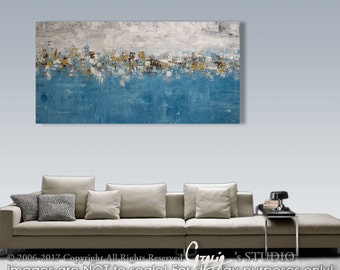 Palette Knife Painting, Modern Painting, Art, LARGE Painting, Wall decor, Wall Art, Canvas Art, Acrylic painting, Art by Catalin