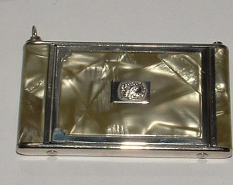 DECO CELLULOSE COMPACT-good condition  by girey- one of a kind stunning 1920s