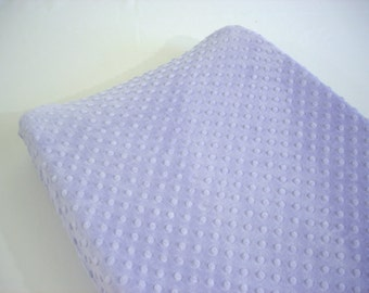 Purple Changing Pad Cover Lavender