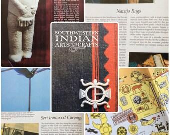 Southwestern Indian Arts & Crafts, Vintage Booklet, R