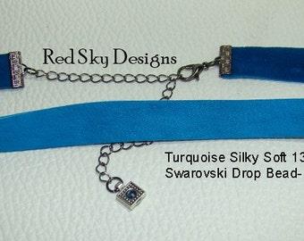 Single PREMIUM Smooth Leather Choker - Choker Cowhide Leather - Leather Necklace - Cowhide Necklace - Leather Jewelry -