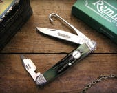 Father's Day Personalized Gift for Hunters Remington Upland Engraved Pocket Knife,, Dove, Quail, Goose, Duck, Bird Hunter, Hunting