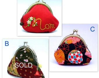 BIG SALE - Small clutch / Coin purse (GP10)