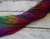 NEW - Hand Dyed SUMMER CARNIVAL cord, 5 yards