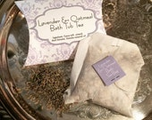 Lavendar Bath Tea Bag