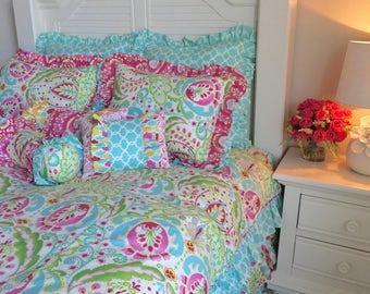 kumari teja bedding fullqueen bedding hot pink bedding for girls girlu0027s