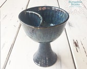 Chalice in Handmade, Pottery Chalice, Divided Chalice
