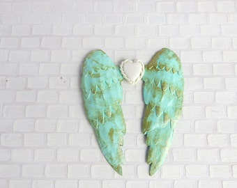 Aqua angel wings in 1:12 scale