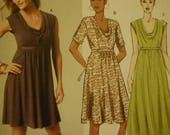 Summer Designer Dresses--Multi Sizes 8-16 UNCUT Pattern--SALE