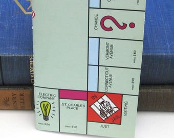 Monopoly Gameboard Notebook / Journal / Sketchbook